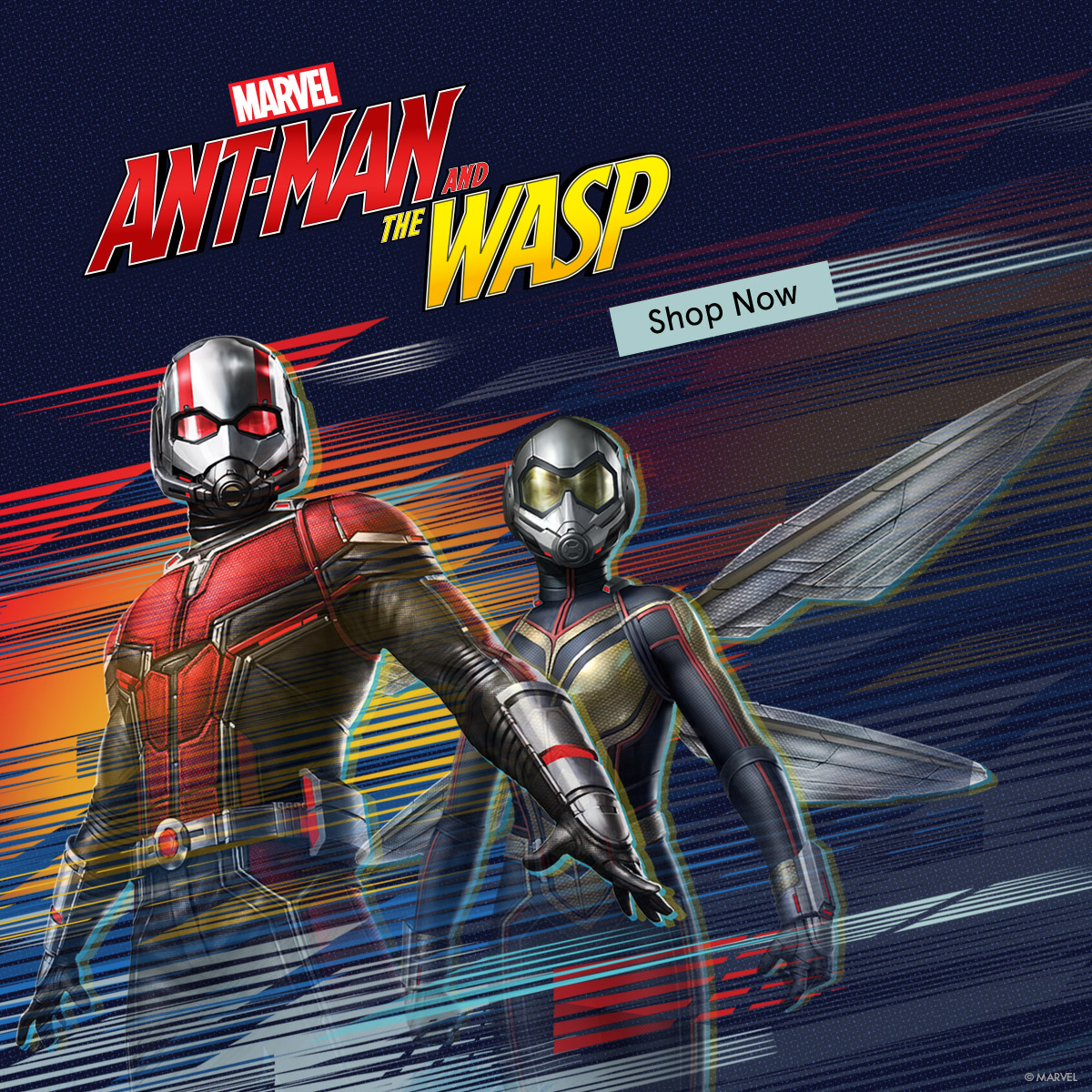 Marvel. Ant-Man and the Wasp. Shop Now.