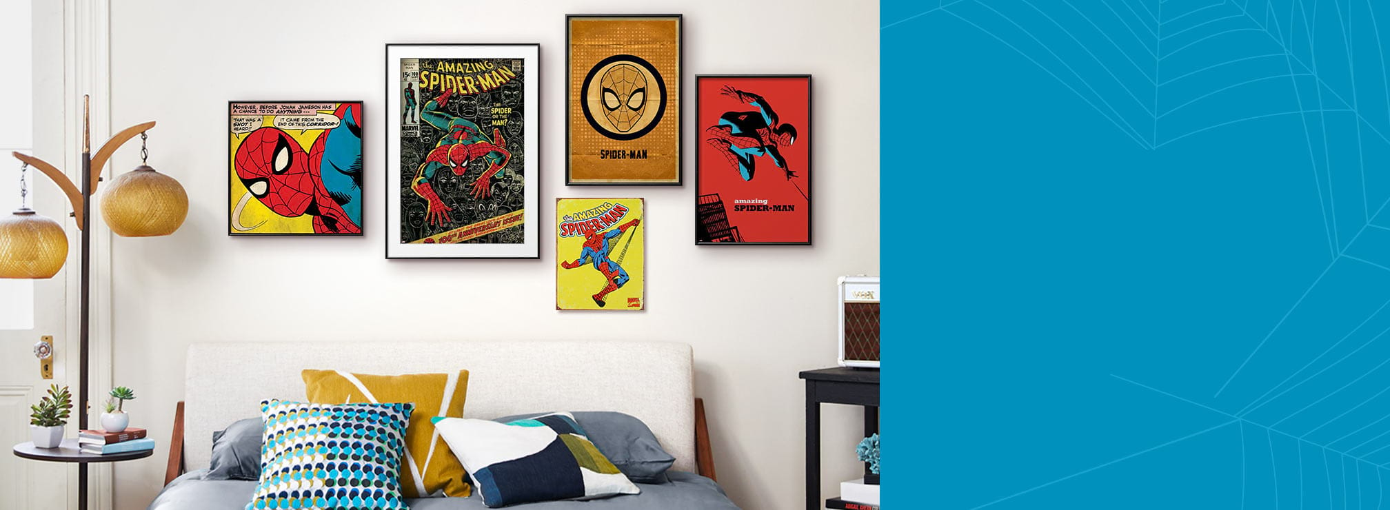 Elevate Your Spider Sense. This poster collection is Peter Parker approved. Shop Now.