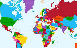 Large Map Of The World Poster.Affordable World Maps Posters For Sale At Allposters Com