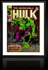 Marvel Comics Retro: The Incredible Hulk Comic Book Cover 105