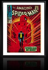 Marvel Comics Retro: The Amazing Spider-Man Comic Book Cover 50, Spider-Man No More!