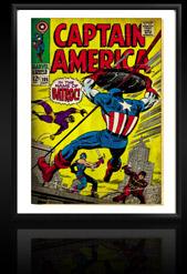 Marvel Comics Retro: Captain America Comic Book Cover 105, Batroc