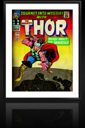 Marvel Comics Retro: The Mighty Thor Comic Book Cover 125, Journey into Mystery