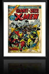 Marvel Comics Retro: The X-Men Comic Book Cover 1